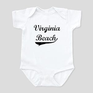 Virginia Beach (vintage] Infant Bodysuit